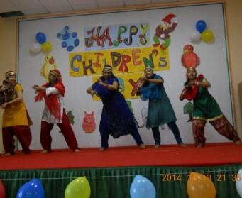 Children's Day Celebration (Nursery-VIII) on 13th and 14th November, 2014