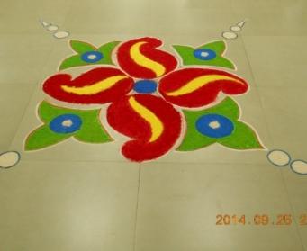 Durga Puja Assembly (Nursery-I) on 25th September, 2014