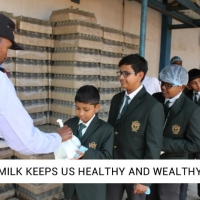 MILK KEEPS US HEALTHY AND WEALTHY