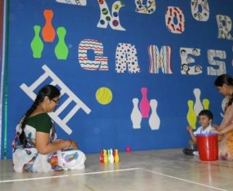 Indoor Games (Nursery-UKG) on 7th & 10th July, 2014