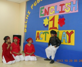 Inter-House English One Act Play (VII-VIII) 2013
