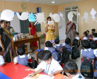 Mom on Duty (Nursery-LKG) from 25th August-10th September, 2014