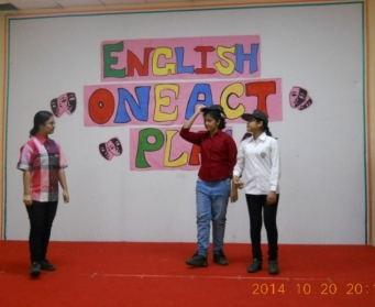 English One Act Play (VI-VII) on 16th October, 2014