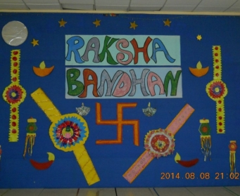 Raksha Bandhan (VI-VIII) on 8th August, 2014