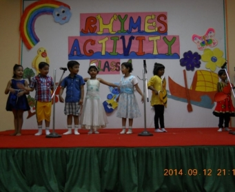 Rhymes Activity Class I on 12th September, 2014