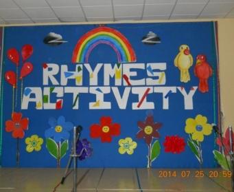 Rhymes Activity (Nursery-LKG) on 25th July, 2014