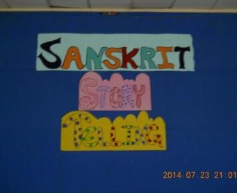 Sanskrit Story Telling (VI-VIII) on 23rd July, 2014