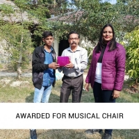 Awarded for Musical chair-2