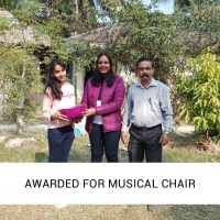 Awarded for Musical chair