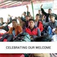 Celebrating our welcome