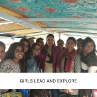Girls lead and explore