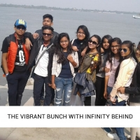 The vibrant bunch with infinity behind