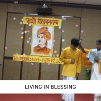 LIVING  IN BLESSING