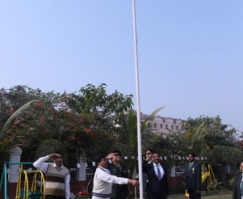 71st Republic Day Celebrated at Delhi Public School, Durgapur