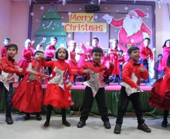 Christmas Celebration at DPS Durgapur