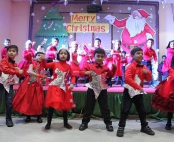Christmas Celebration at DPS Durgapur