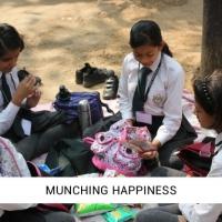 MUNCHING HAPPINESS