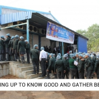 QUEUING UP TO KNOW GOOD AND GATHER BETTER.