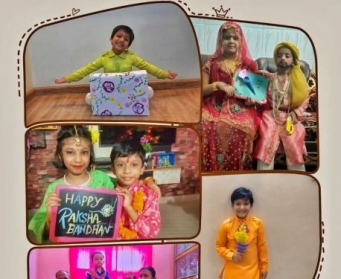 Raksha Bandhan Celebrations 2020 by Pre-primary Students
