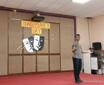 Shakespeare Day Celebration