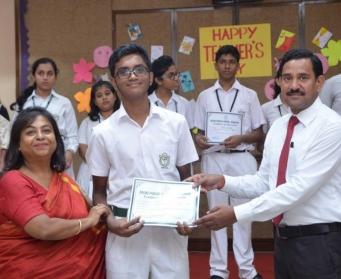 Teachers' Day Celebration at Delhi Public School, Durgapur