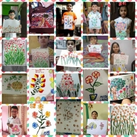 vegetable-Paintings-By-Class I-Students (1)