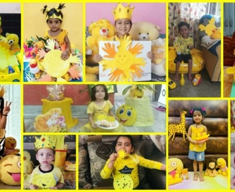 Yellow Colour Day Celebration