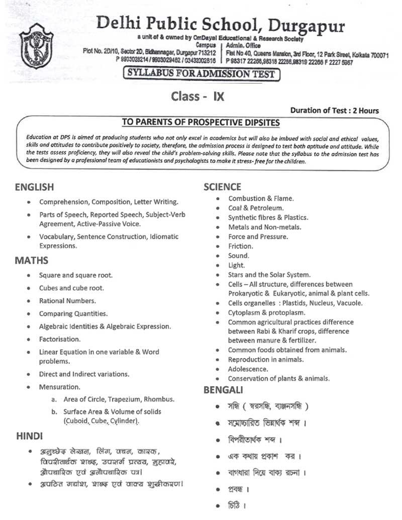 syllabus 9