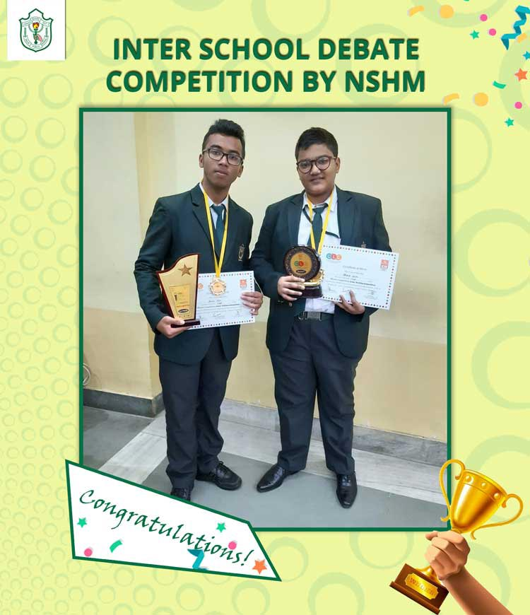 INTER SCHOOL DEBATE COMPETITION BY NSHM
