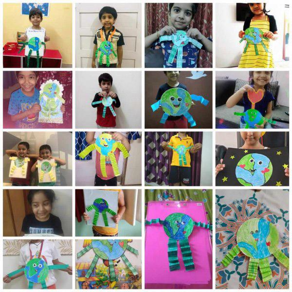 Multifarious activities of DPS Kids