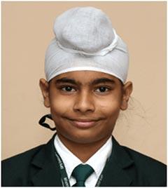 Prabhjot Singh - VIIIB