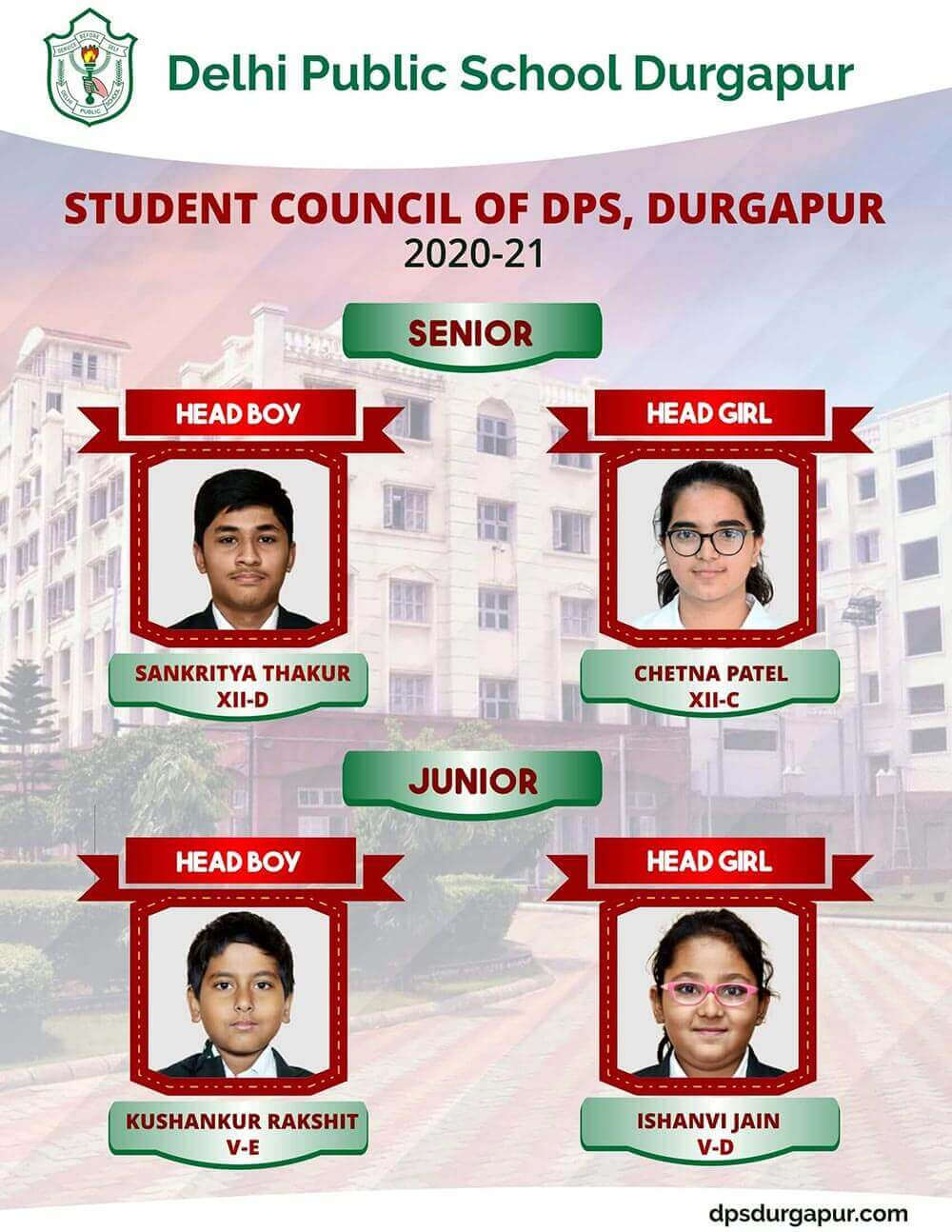 Students' Council Members 2020-21