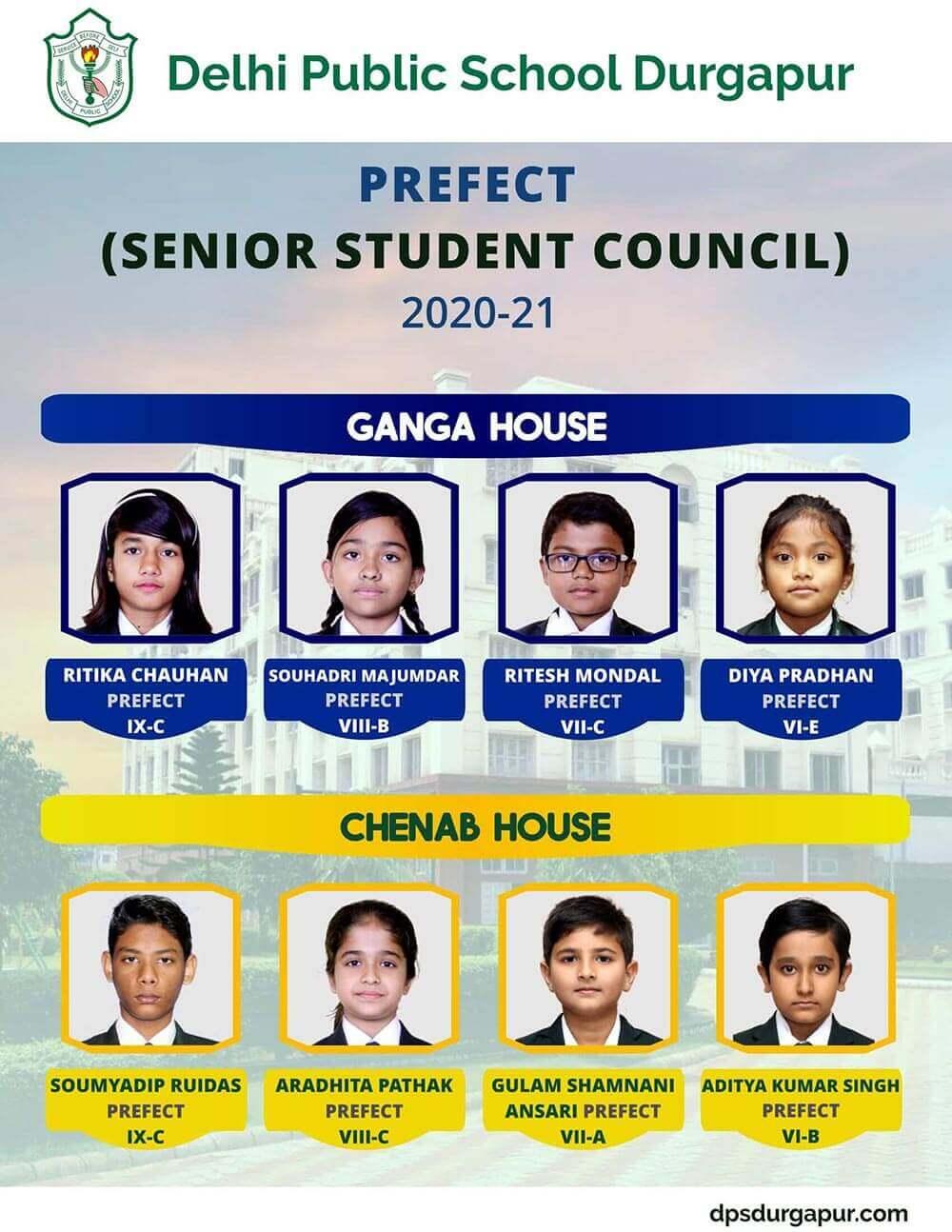 House Prefect 2020-21