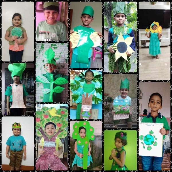 World Nature Conservation Day, 2020 Celebration by Pre-primary Students