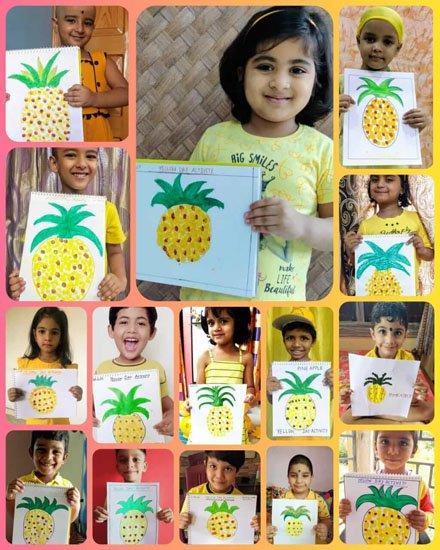 Yellow Colour Day Celebration