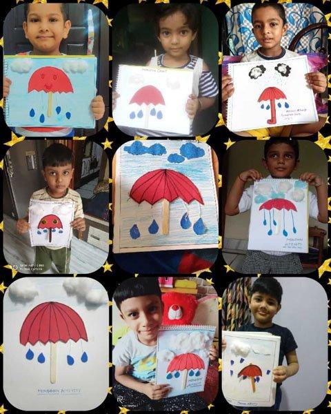 Majestic Monsoon Craft with Refreshing Rain