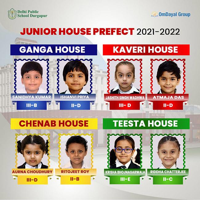 Junior House Prefect 2021-22