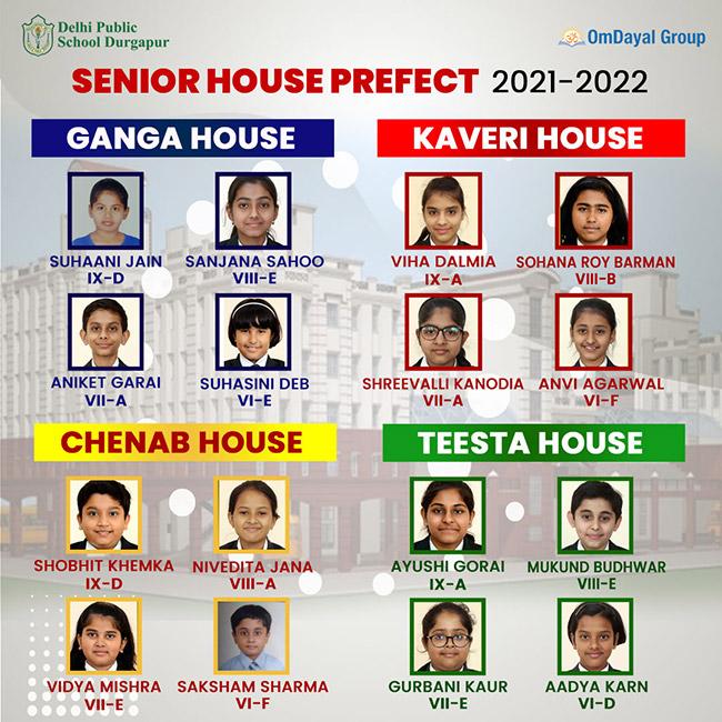 Senior House Prefect 2021-22