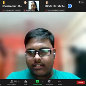Webinar by Mr Praveen Kumar on 'My Knowledge - My Power'